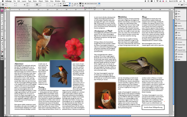 Applescript Aperture Indesign Integration