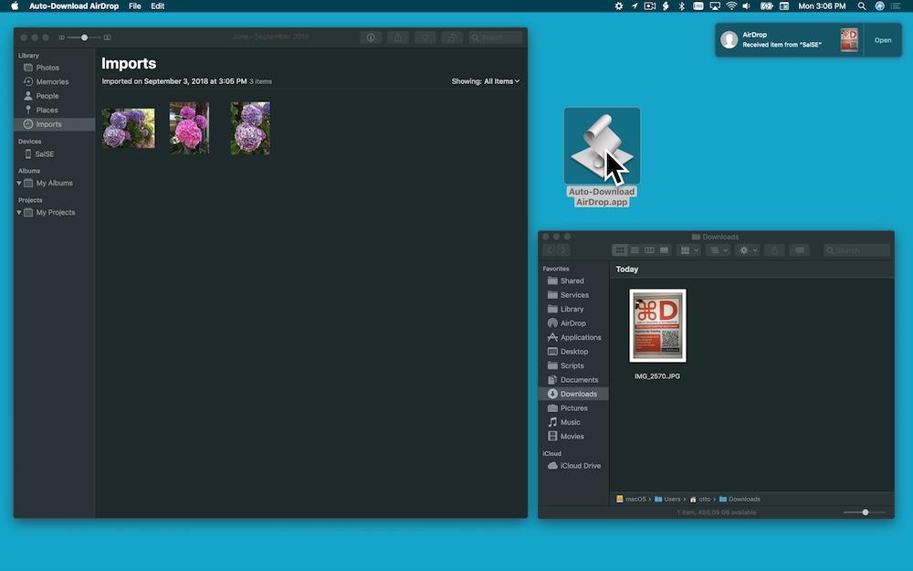 Automator: Folder Actions