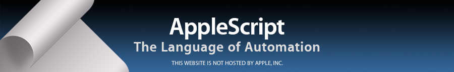 AppleScript: Beginner's Tutorial