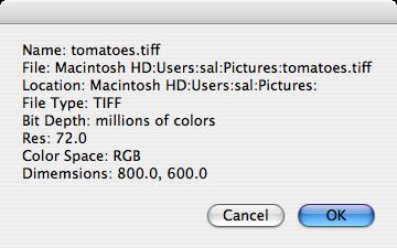AppleScript: Image Events